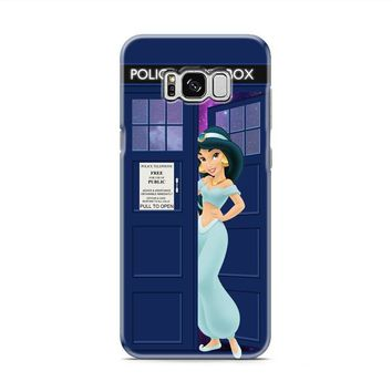 Disney Princess Jasmine Tardis Police Box Samsung Galaxy S8 | Galaxy S8 Plus case