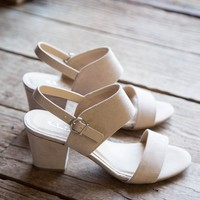 Spot On Sandal, Nude   Chinese Laundry