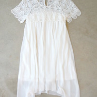 Lace Gypsy Tunic Dress [7136] - $56.00 : Feminine, Bohemian, & Vintage Inspired Clothing at Affordable Prices, deloom