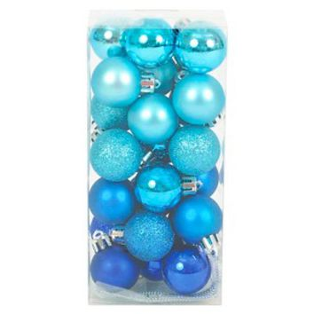 Holiday Blue Round 25 Ct. Ornament : Target