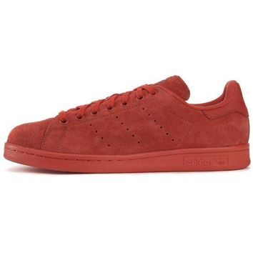 adidas for Men: Stan Smith Red Sneakers