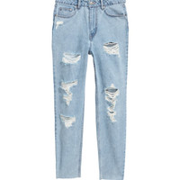 H&M Mom Jeans $39.99