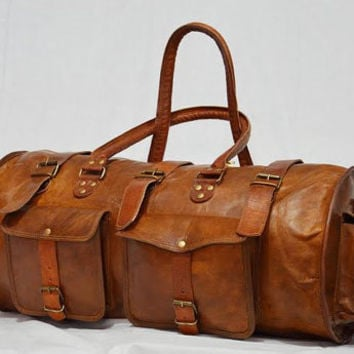 Best Vintage Leather Luggage Products on Wanelo