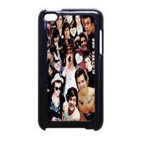 Harry Styles One Direction Collage Clothes Off iPod Touch 4th Generation Case