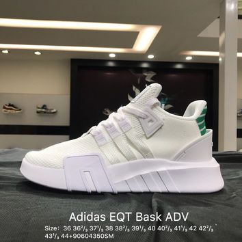 White  New Arrival 2018 Adidas EQT Bask ADV J AC7195  -AC1795  Women's Causel  Sneakers  Shoes