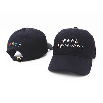 2017 Brand Real Friends Hat Trending Rare Baseball Cap I Feel Like Pablo Snapback Cap Kanye Tumblr Hip Hop Dad Hat Men and Women