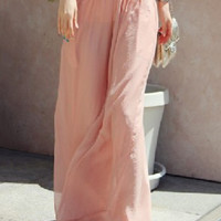 Bohemian High-Waisted Pants