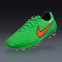 Nike Magista Opus FG - Poison Green/Total Orange/Flash Lime/Black Firm Ground Soccer Shoes