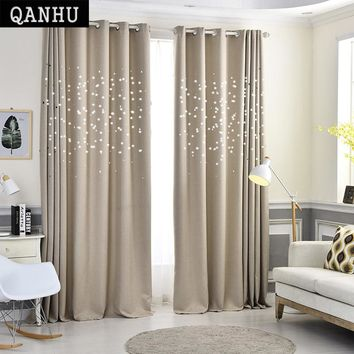 Modern Stars Window Curtains for Living Room