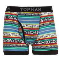 Bright Aztec all over pattern underwear - New In