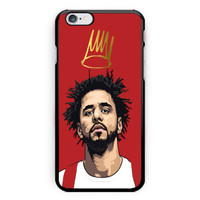 New J-Cole Art Print On Hard Plastic Case For iPhone 6s, 6s plus