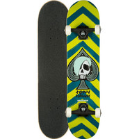Birdhouse Tony Hawk Skull Full Complete Skateboard Grey One Size For Men 25341011501