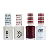DND - Base, Top, Gel & Lacquer Combo - University Red - #676