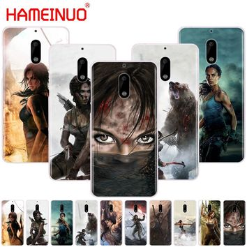 HAMEINUO Rise Of The Tomb Raider cover phone case for Nokia 9 8 7 6 5 3 Lumia 630 640 640XL 2018