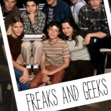 Freaks And Geeks Metal Print 8in x 12in