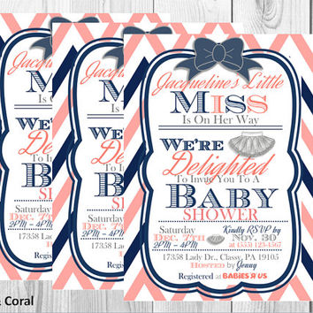 TuTu Delighted Baby Shower Invitation