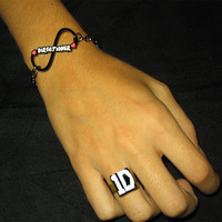 One Direction - Infinity Directioner Bracelet and Ring 1D - Exclusive - Pulseira - Armband