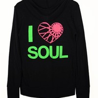 eco-heather-zip-hoodie-w-i-heart-soul - Soul Shop - SoulCycle