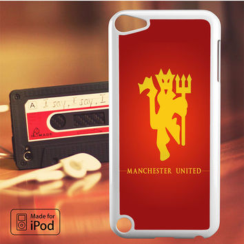 Manchester United Logo iPod Touch 4 5 6 Case Cover