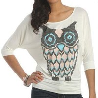 Stitch Owl Top--Wet Seal