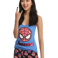 Marvel Kawaii Amazing Spider-Man Girls Sleep Set