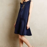 Poplin Dropwaist Dress by Sam & Lavi Blue