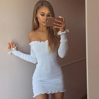 Summer Sexy Women Bandage Bodycon Evening Cocktail Party Club Mini Short Dress