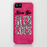 Glen Coco Zebra Print iPhone Case by Sandra Amstutz  | Society6