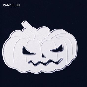 PANFELOU Vintage pumpkins Scrapbooking Christmas card album paper die metal craft stencils punch cuts dies cutting