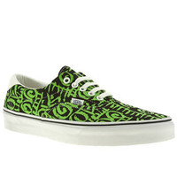 Men's Black & Green Vans Era 59 Van Doren at schuh