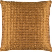 Rutledge Throw Pillow Orange