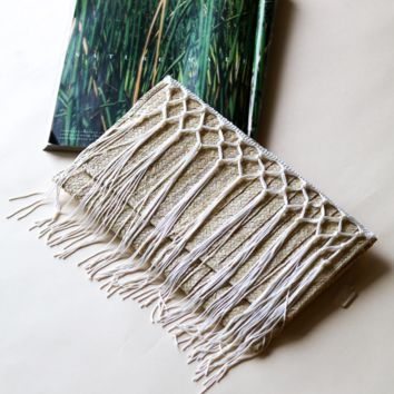 Maui STRAW HANDMADE Clutch-BAGS (EXCLUSIVE DESIGNS)