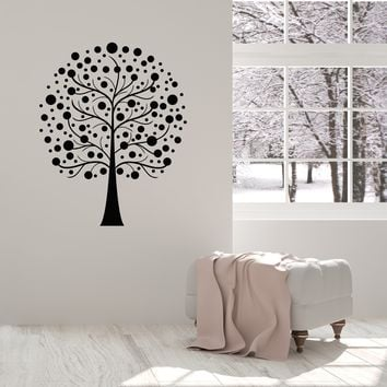 Vinyl Wall Decal Abstract Tree Branches Living Room Home Interior Stickers Mural (ig5491)