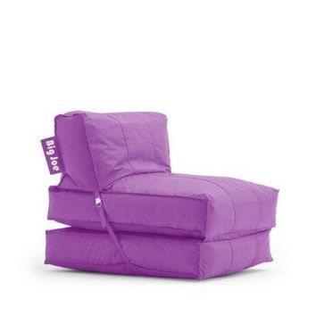 Kids,Teens, Convertible Flip Small Space Lounge Bean Bag Chair Bed