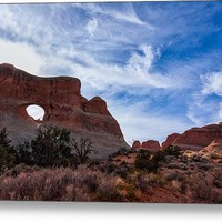 Arches In The Late Afternoon Canvas Print / Canvas Art By John Bailey
