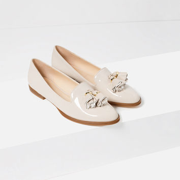 SLIPPERS WITH TASSELS - View all-SHOES-WOMAN | ZARA United States