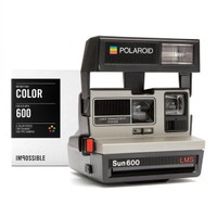 Polaroid 600 Camera with Film