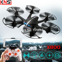 Free shipping MJX X800 2.4G 4CH UAV RTF Quadcopter Drones RC helicopter 6-Axis C4005 HD camera WIFI FPV video VS X5SW X400 H107D