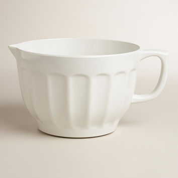 White Melamine Batter Bowl - World Market