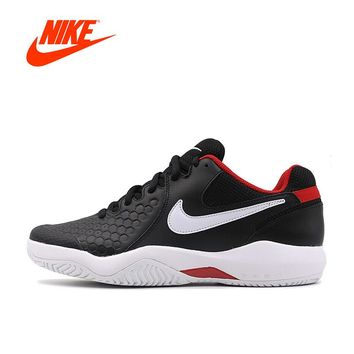 Original New Arrival Authentic NIKE AIR ZOOM RESISTANCE Men's Hard-Wearing Tennis Shoes Sports Sneakers