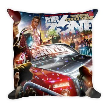 Mr. Zone 6 (16x16) All Over Print/Dye Sublimation Gucci Mane Couch Throw Pillow Insert & Pillow Case/Cover