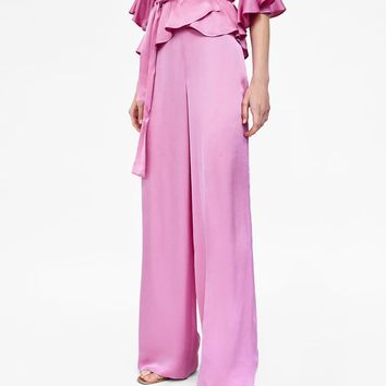 WIDE - LEG TROUSERS-CO-ORD SETS-WOMAN | ZARA United States