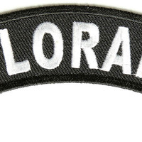 Colorado Rocker Patch Small Embroidered Motorcycle NEW Biker Vest Patch