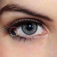 Royal Vision Love Color Grey Circle Lenses Colored Contacts Cosmetic Color Circle Lens | EyeCandy's