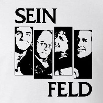 Seinfeld Black Flag T-shirt