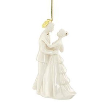 2017 Bride and Groom Ornament by Lenox