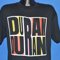80s Duran Duran Abstract Idealist Romantic t-shirt Large