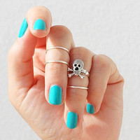 Unique Skull Rings 4 Pcs Tail Ring AnaeCadeau Gift-211