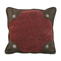 HiEnd Accents Wilderness Ridge Scalloped Pillow