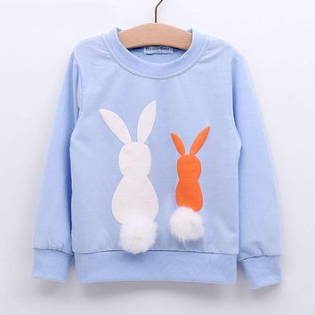 Girls Clothing Kids Sweater New Girl Long Sleeve Children Clothes Cartoon Child Coat Outwear Clothing